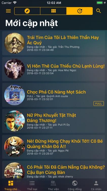 Đọc Truyện Online -Offline Pro screenshot-9