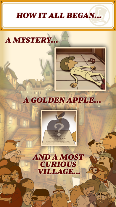 Screenshot for Layton: Curious Village in HD in Egypt App Store