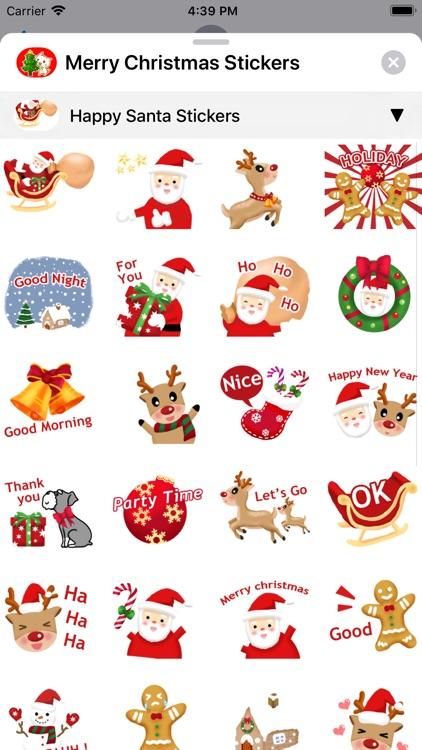 Merry Christmas Sticker Packs screenshot-4