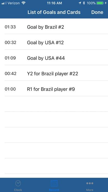 Soccer Football Referee Watch screenshot-3