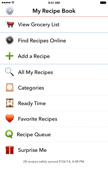 My Recipe Book Organizer screenshot-4