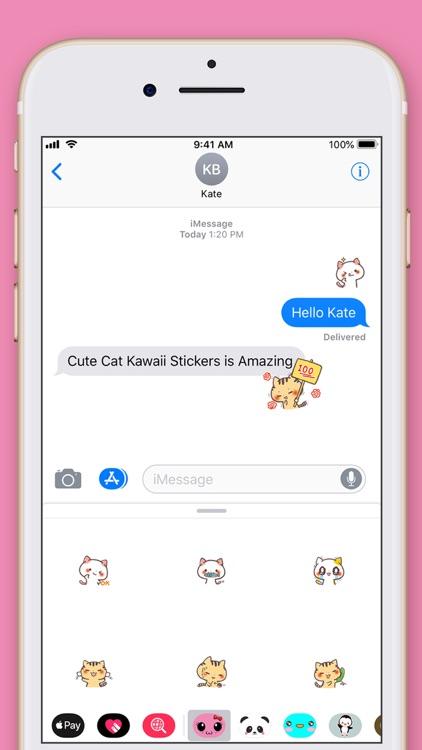 Cute Cat Kawaii Stickers