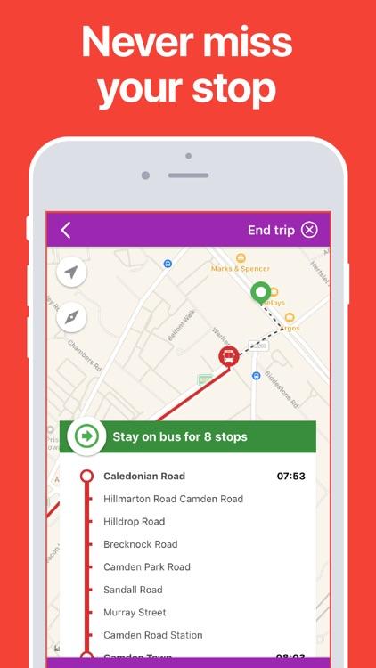 Oxford Bus & Train Times screenshot-3