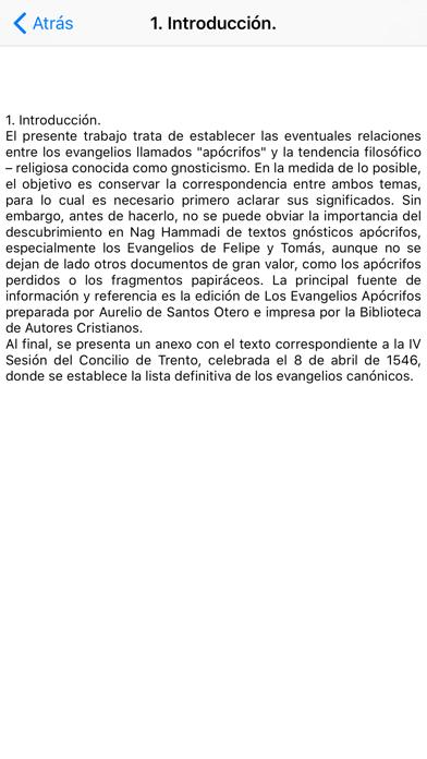 Evangelios Apcrifos review screenshots