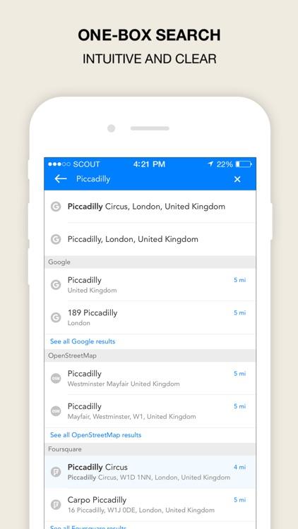 Scout Navigation & Maps (UK) screenshot-4