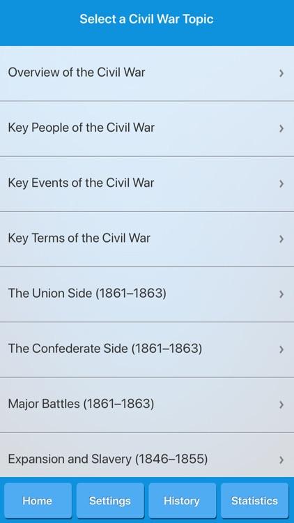 American Civil War History