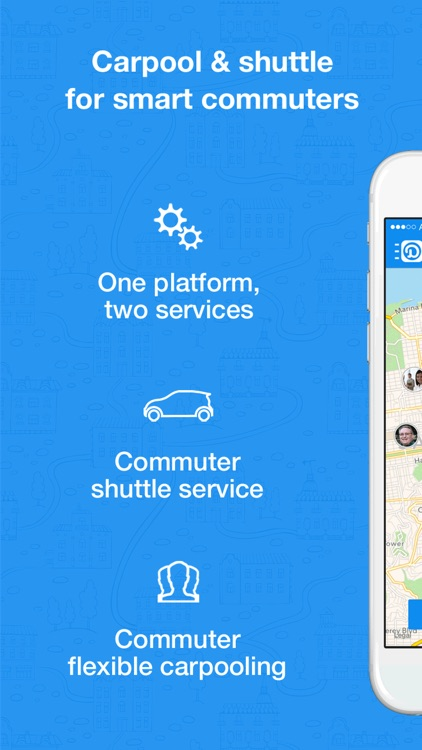 Duet -Carpool, Commute Shuttle