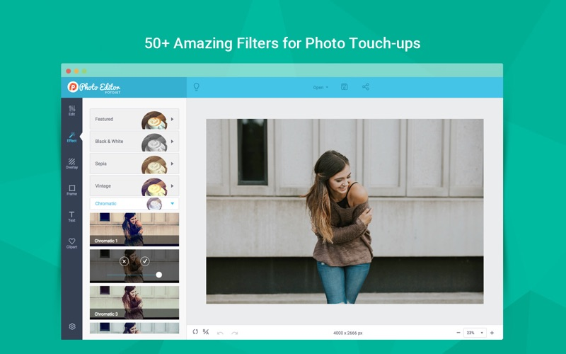 FotoJet Photo Editor Screenshots