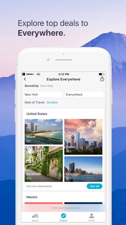 Skyscanner Flights Hotels Cars screenshot-2