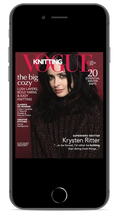 Vogue Knitting review screenshots