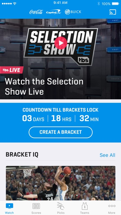 NCAA March Madness Live iPhone