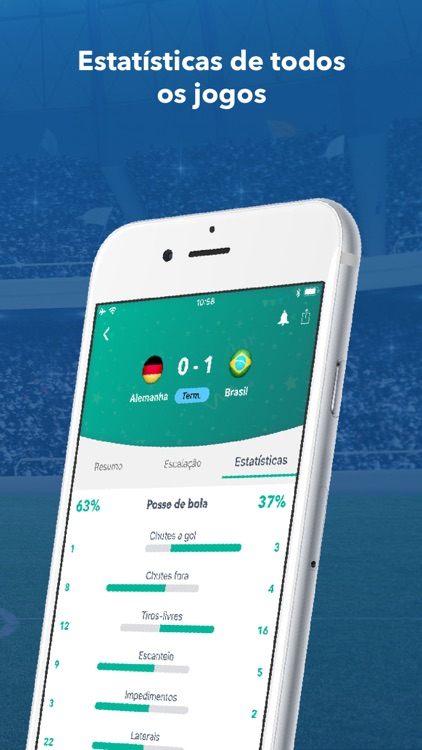 Futebol - Resultados ao vivo screenshot-3