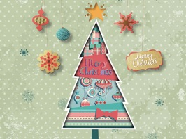 All new style of Christmas Stickers
