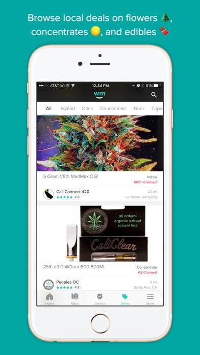 Weedmaps: Marijuana & Cannabis Screenshots