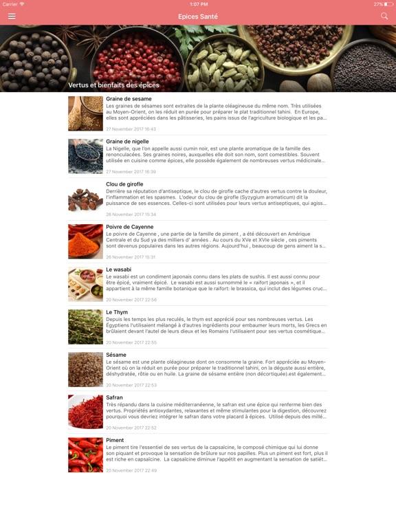 Screenshot #4 pour Aliments Santé