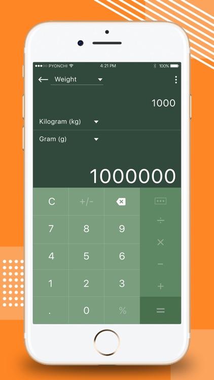 Calculator - Unit Converter screenshot-3