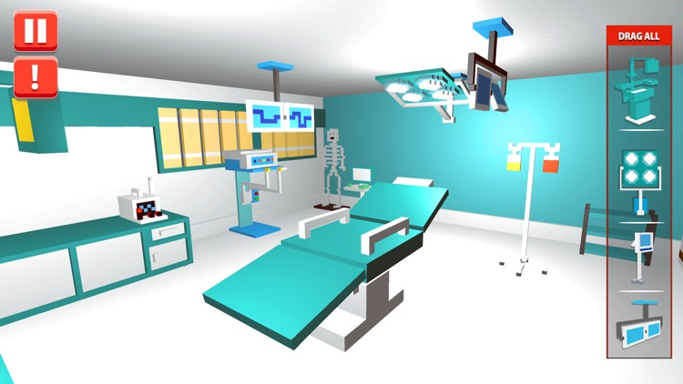 Hospital Craft Building Sim