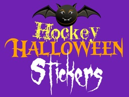 Hockey fans and players celebrate Halloween with stickers