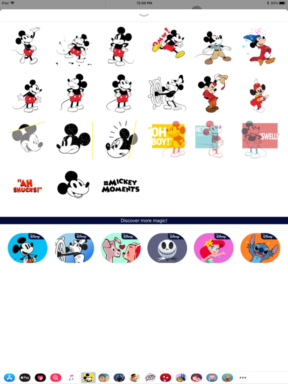 Disney Stickers: Mickey's 90th screenshot 7