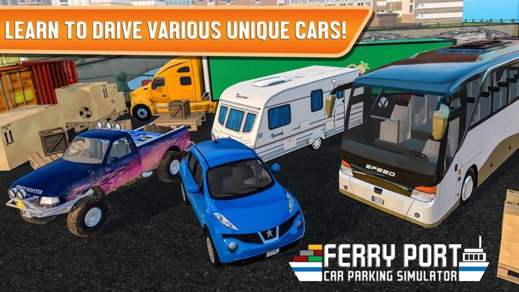 Ferry Port Car Parking Simulator screenshot-4