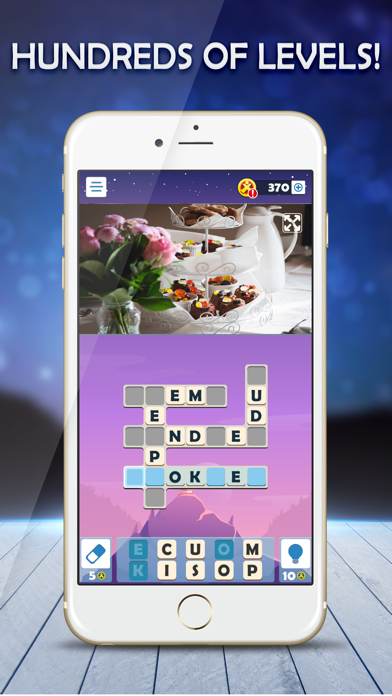 Puzzle Club: Jumble Crosswords screenshot 1