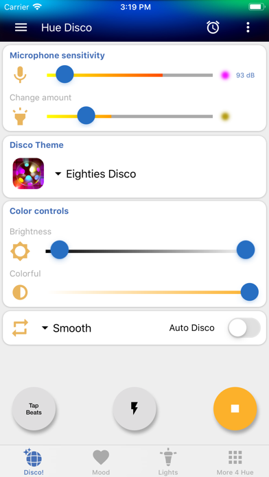 Hue Disco app image