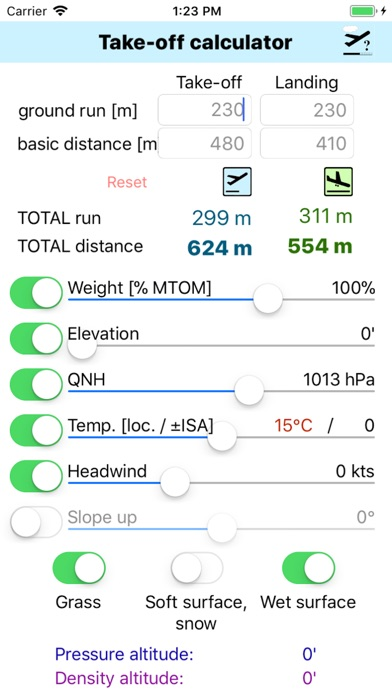 Screenshot for Take-Off Distance in Azerbaijan App Store