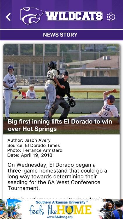 El Dorado Wildcats Athletics screenshot-4