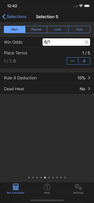 betting calculator app iphone
