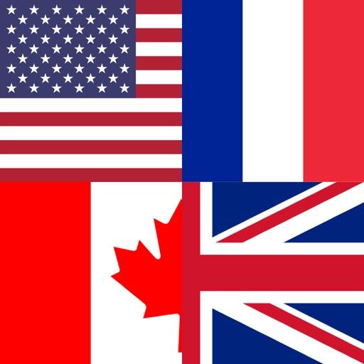 Угадай флаги стран мира.
