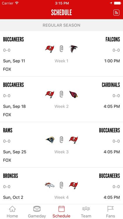 Tampa Bay Buccaneers Official screenshot-3
