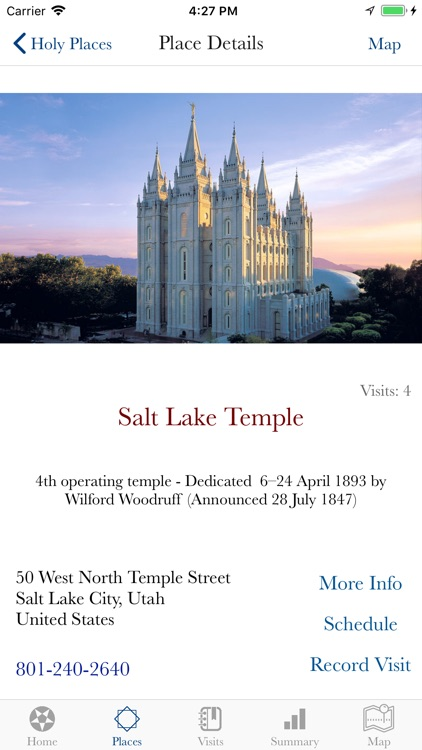 Holy Places - LDS