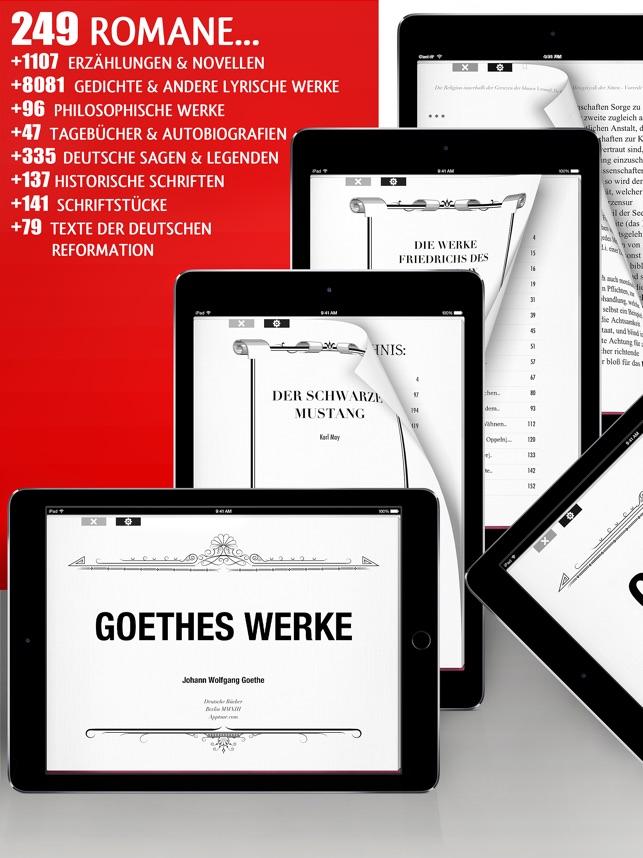 Deutsche Bücher Screenshot