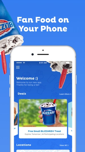 dairy queen app for android