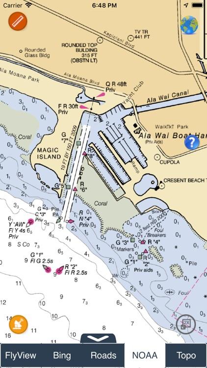NOAA Buoys - Charts & Weather screenshot-3
