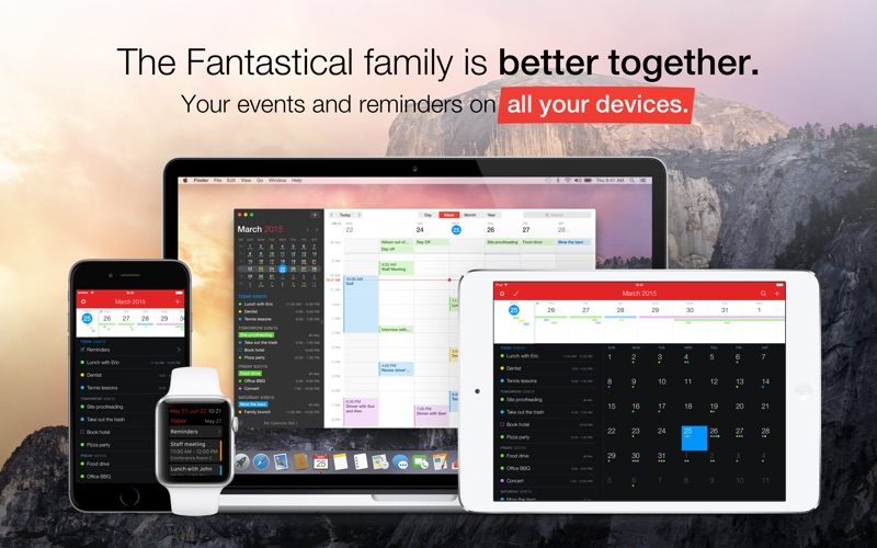 Fantastical 2 Screenshots