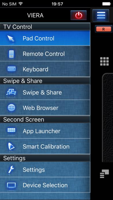 Panasonic TV Remote 2 screenshot one