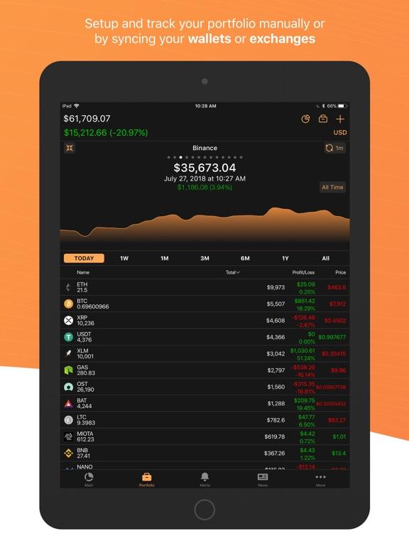 Coin Stats - Crypto Portfolio Screenshots