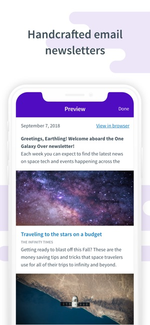 App Store: Curate: Simple Email Marketing