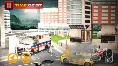 都市救急車運転ゲーム2017:緊急レースのおすすめ画像1
