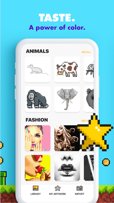 download UNICORN - Color by Number Game apps 3