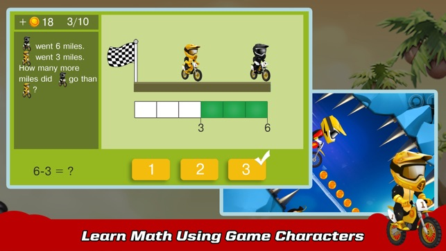 SKIDOS Racing: Cool Math Games On The App Store