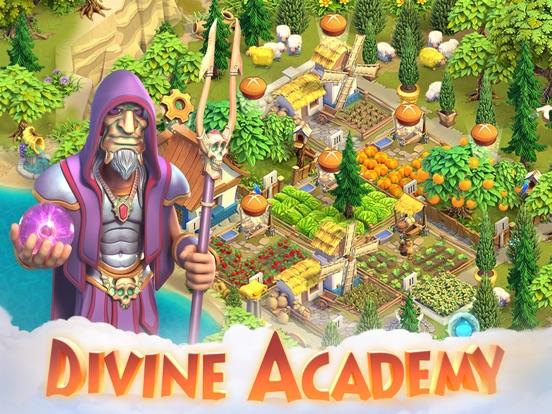 Divine Academy на iPad