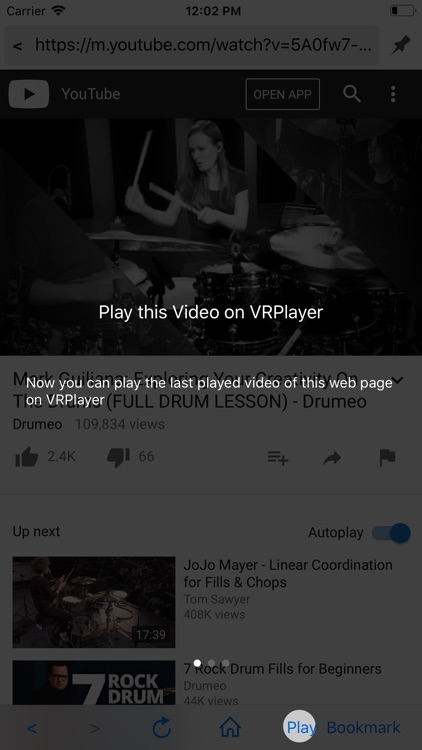 VRPlayer : 2D 3D 360° Video screenshot-3