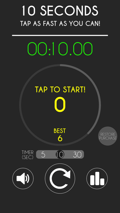 10 Seconds - Tap as fast as you can! screenshot one