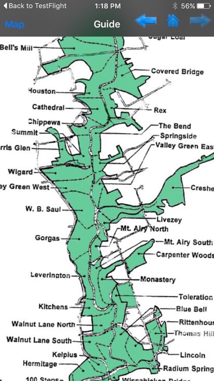 Wissahickon Valley Park - GPS Map Navigator screenshot-3