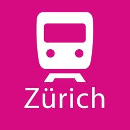 Zurich Rail Map