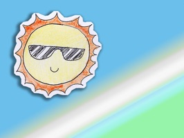 Kawaii! Summertime Stickers