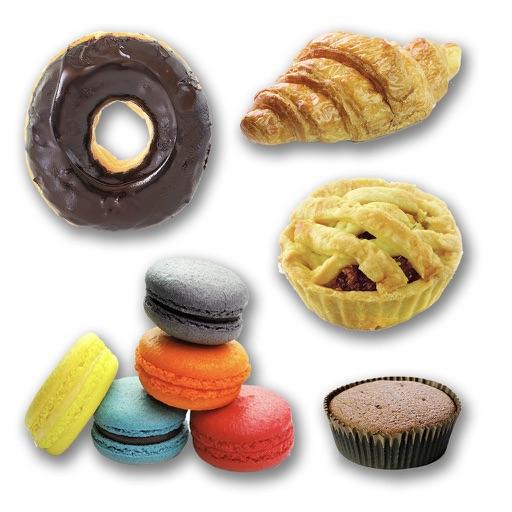 Sweet Treat Dessert Stickers
