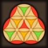 Hard Wood Puzzle. Hexagon